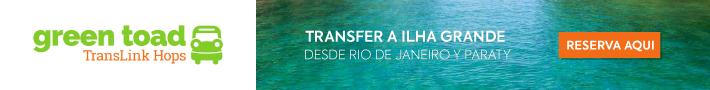 Green Toad. Rio de Janeiro / Paraty X Ilha Grande.